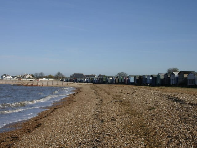 Whitstable beach, Whitstable, Kent