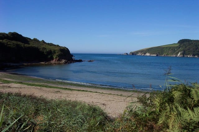 Wonwell Sands beach, Plymouth, Devon