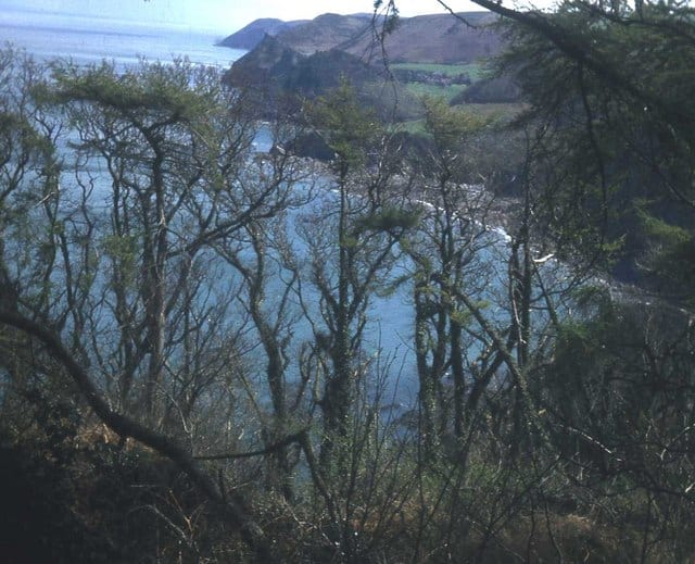 Woody Bay beach, Lynton, Devon