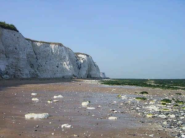 Dumpton Gap beach, Broadstairs, Kent