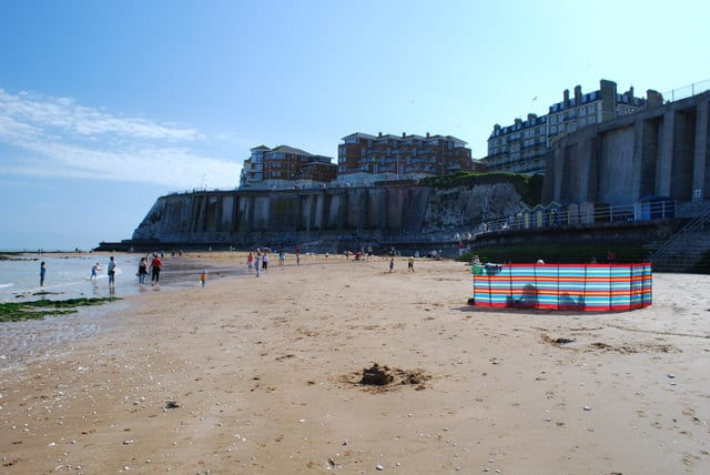 Louisa Bay beach, Broadstairs, Kent