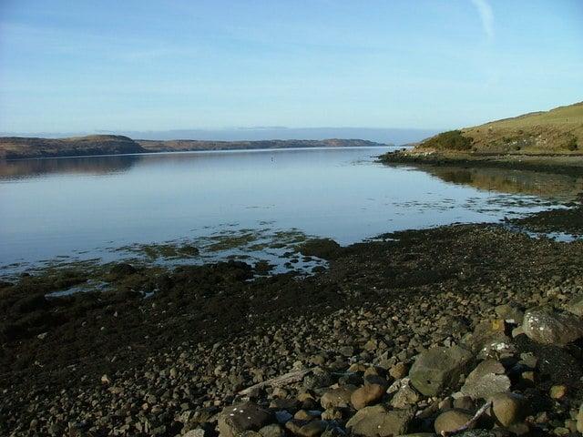 Loch Treaslane Loch Snizort beach, Aird Bernisdale, The Scottish Highlands