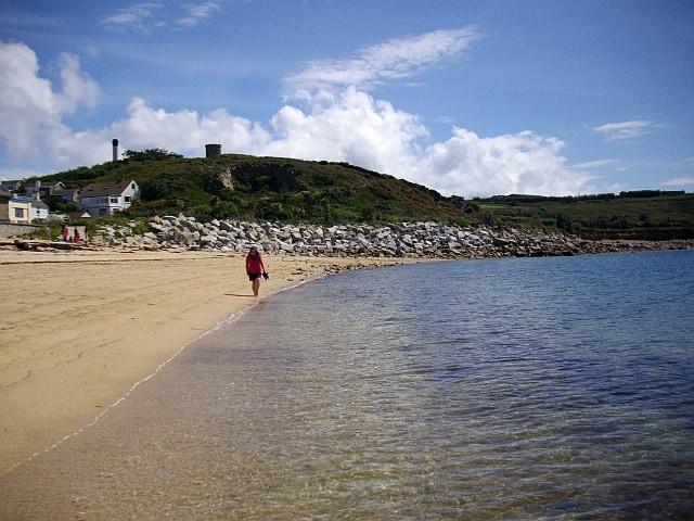 Porthcressa beach, Isles of Scilly, Cornwall