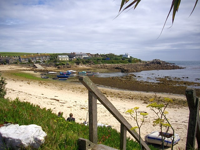 Old Town Bay beach, Isles of Scilly, Cornwall