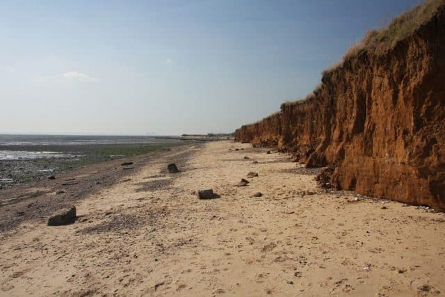Cudmore Grove Beach, Mersea Island, Essex