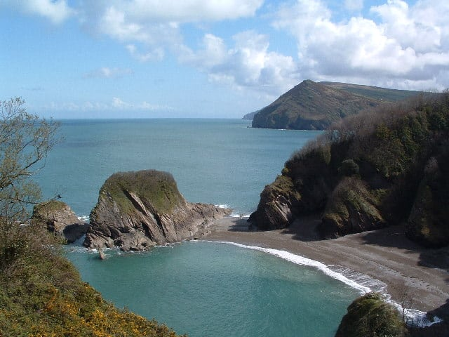 Broad Sands beach, Combe Martin, Devon