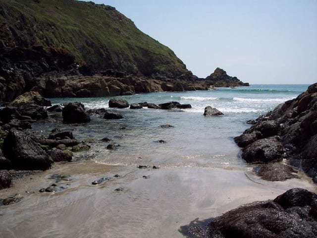 Downas Cove beach, The Lizard, Cornwall