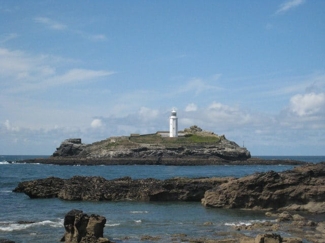 Godrevy Lighthouse, Hayle, Cornwall