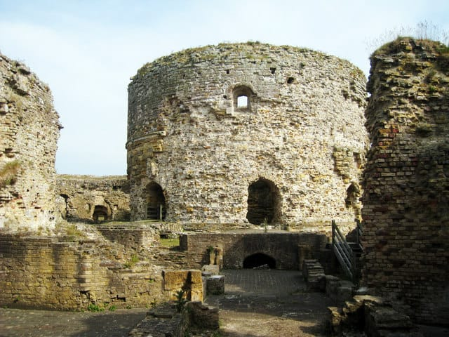 Camber Castle, Rye, East Sussex