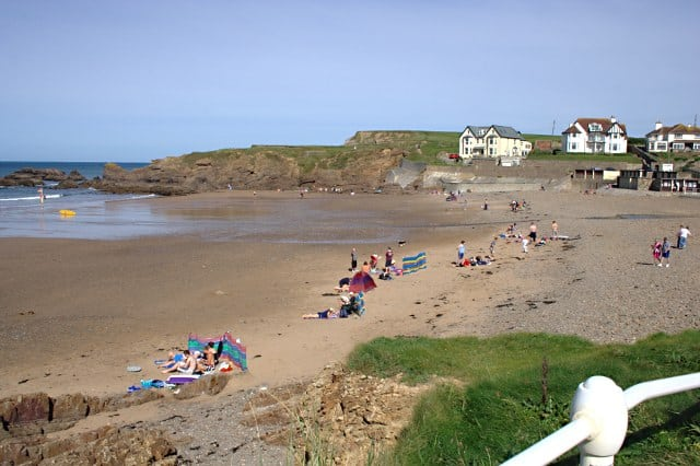Crooklets beach, Bude, Cornwall
