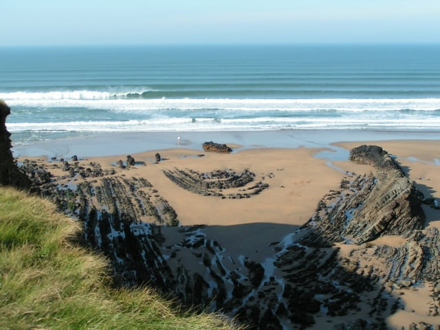 Northcott Mouth beach, Bude, Cornwall