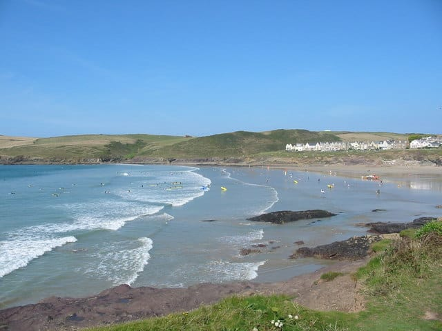 Polzeath beach, Polzeath, Cornwall