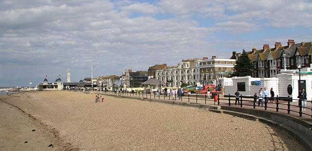 Herne Bay beach, Herne Bay, Kent