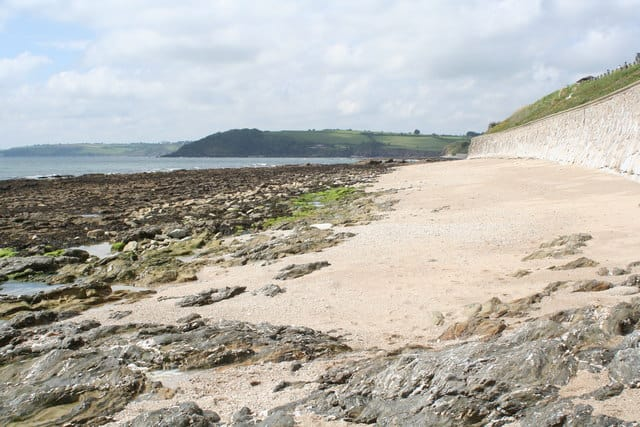 Castle beach, Falmouth, Cornwall