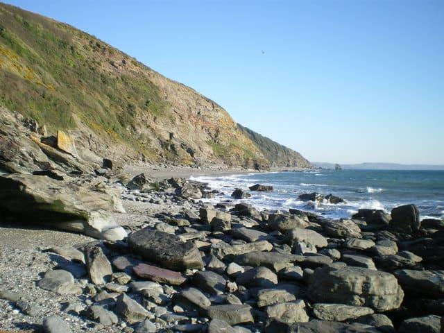 Downderry beach, Saltash, Cornwall