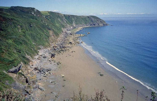 Great Perhaver beach, Mevagissey, Cornwall