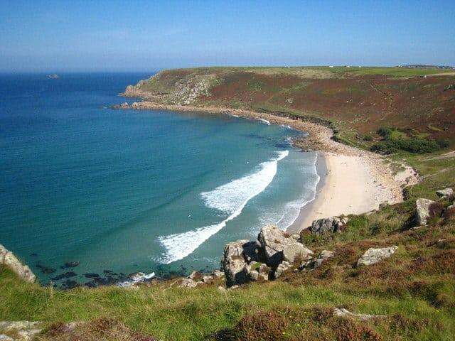 Gwenver beach, Sennen, Cornwall