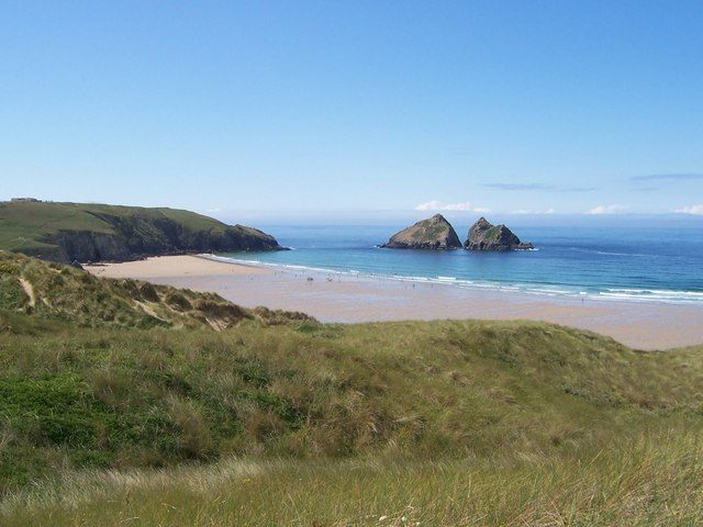 Holywell Bay Beach Dog Friendly