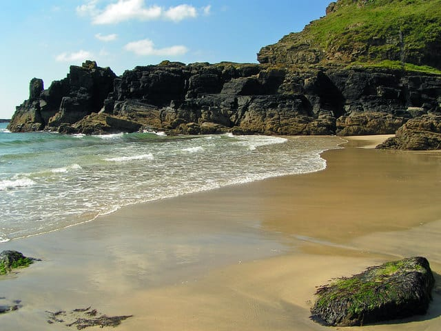 Housel Bay beach, The Lizard, Cornwall