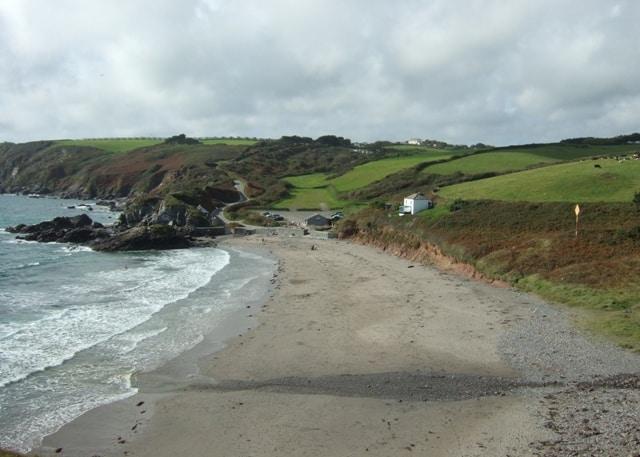 Kennack Sands beach, The Lizard, Cornwall