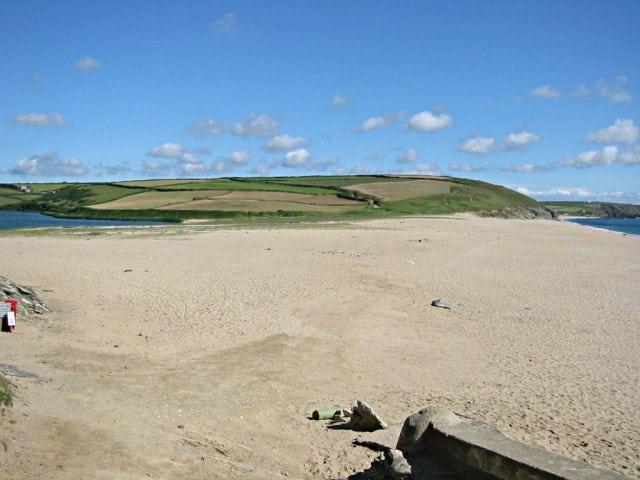Loe Bar beach, Penzance, Cornwall