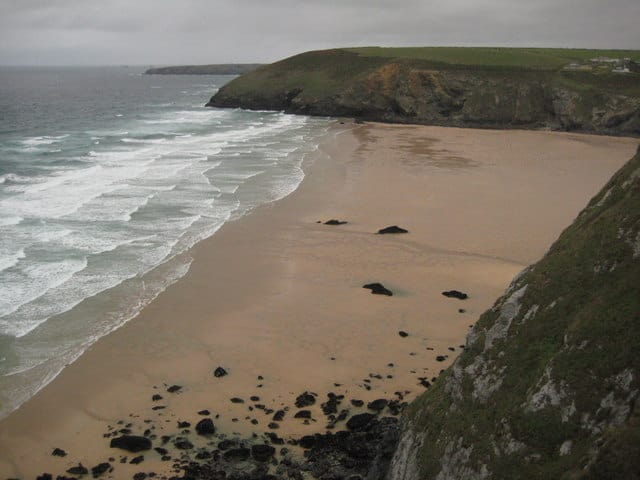 Mawgan Porth beach, Newquay, Cornwall