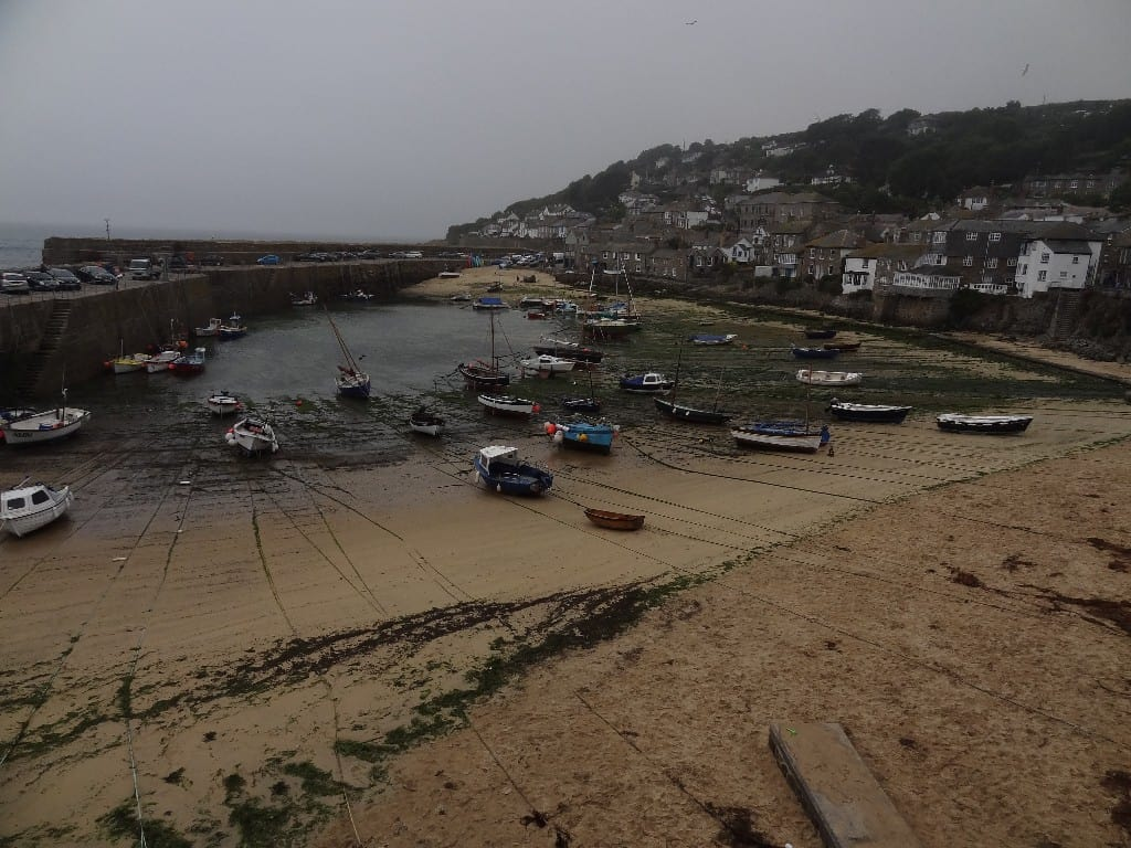 Mousehole beach, Mousehole, Penzance, Cornwall