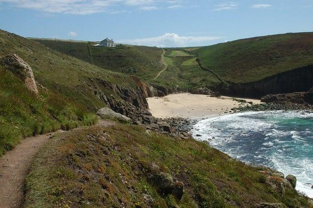 Nanjizal beach, Porthcurno, Cornwall
