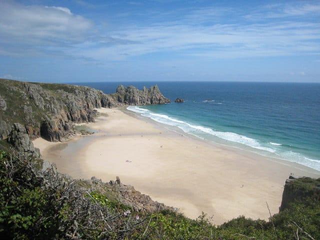 Pedn Vounder beach, Porthcurno, Cornwall