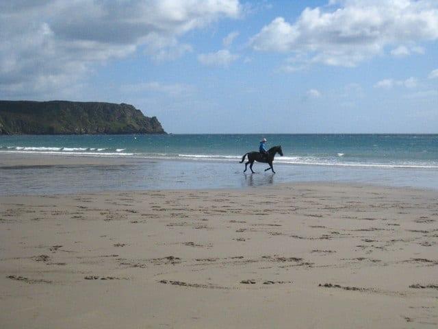 Pendower beach, Truro, Cornwall