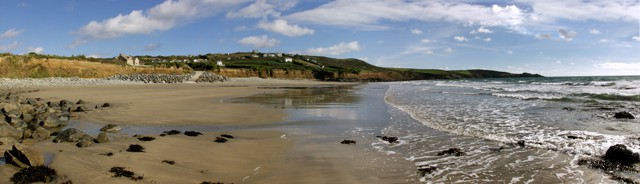 Perran Sands Perranuthnoe beach, Perranuthnoe, Cornwall