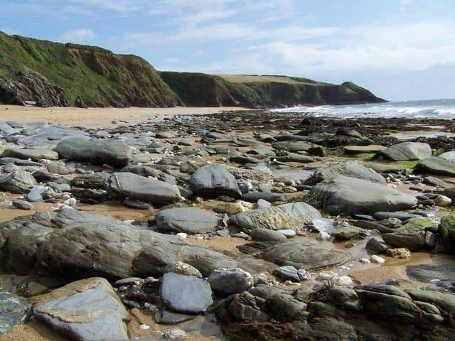 Porthbeor-beach
