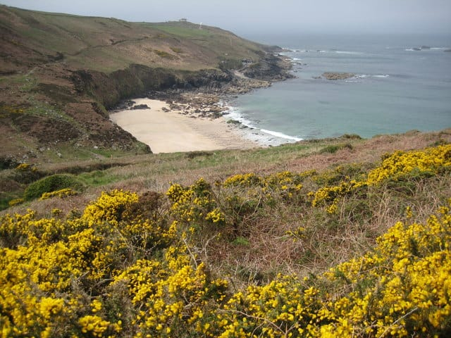 Portheras Cove beach, Morvah, Cornwall