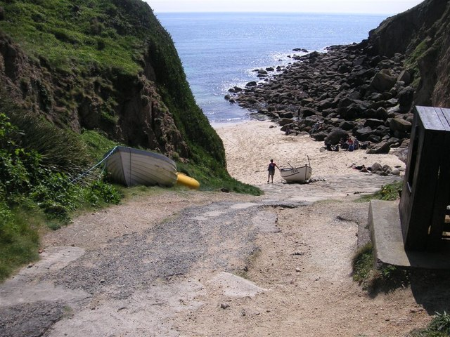 Porthgwarra beach, St Levan, Cornwall