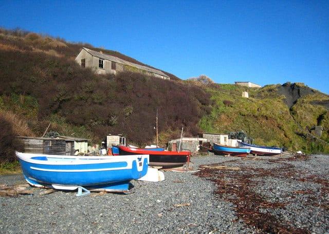 Porthoustock-beach