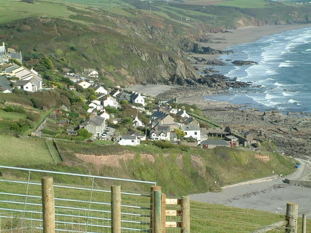 Portwrinkle and Finnygook beach, Portwrinkle, Cornwall