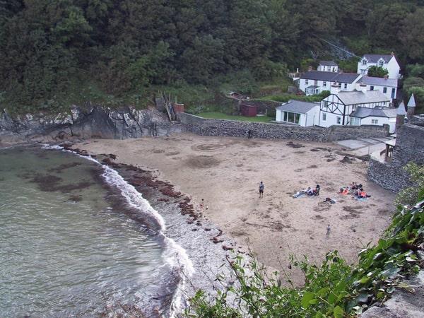 Readymoney Cove beach, Fowey, Cornwall