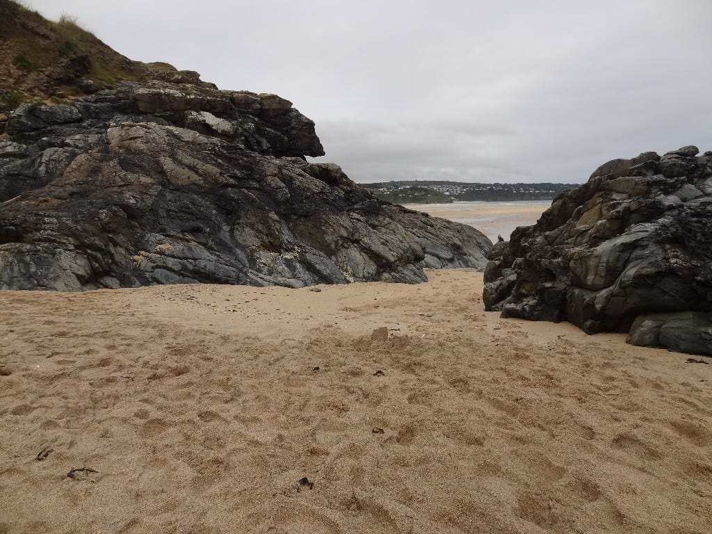 Black Cliff beach, Hayle, Cornwall