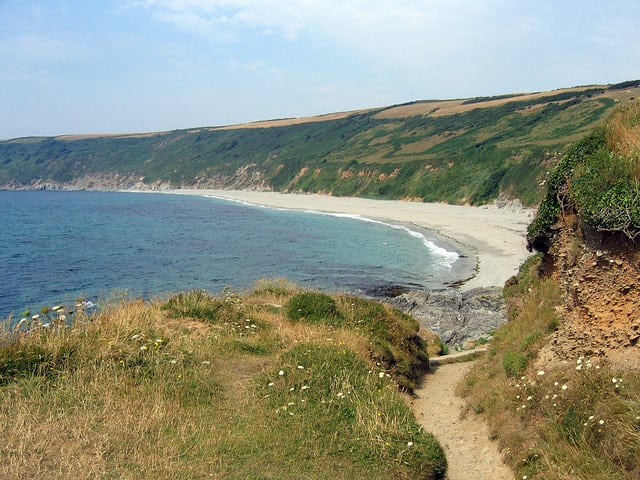 Vault beach, Gorran Haven, Cornwall