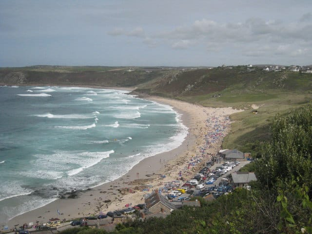 Sennen Cove beach, Sennen, Cornwall
