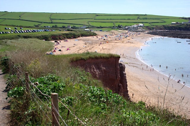 South Milton Sands beach, Thurlestone, Devon