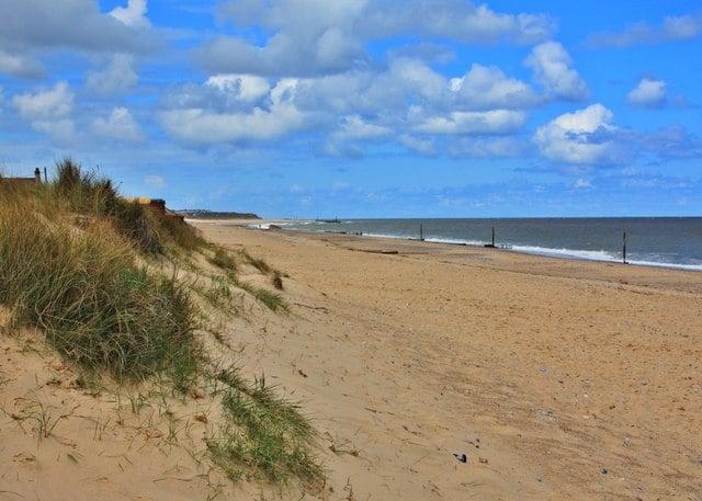 Caister-beach