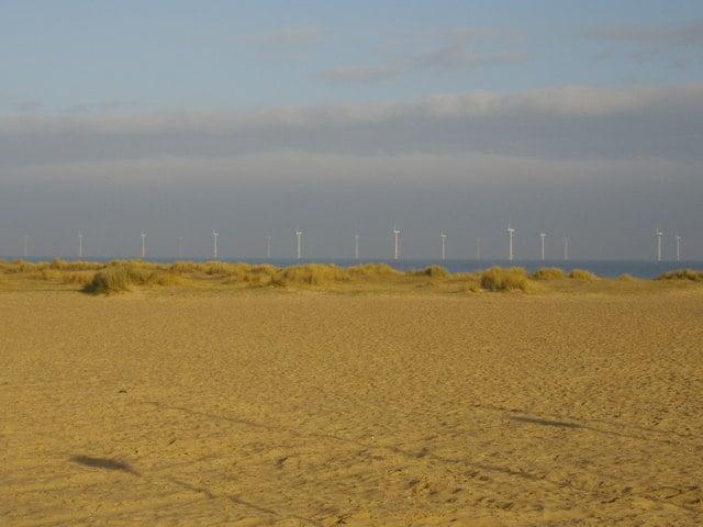 Great Yarmouth North beach, Great Yarmouth, Norfolk