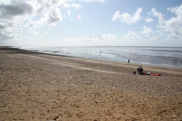 Heacham beach, Hunstanton, Norfolk