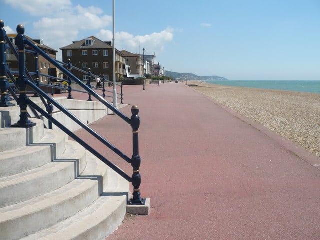 Hythe beach, Hythe, Kent