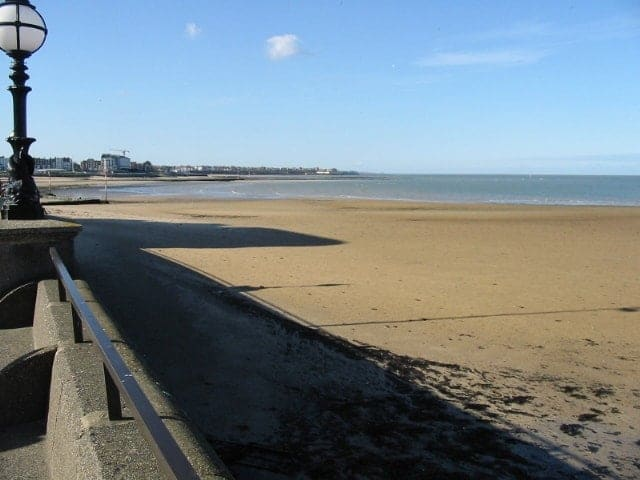 Margate Bay beach, Margate, Kent