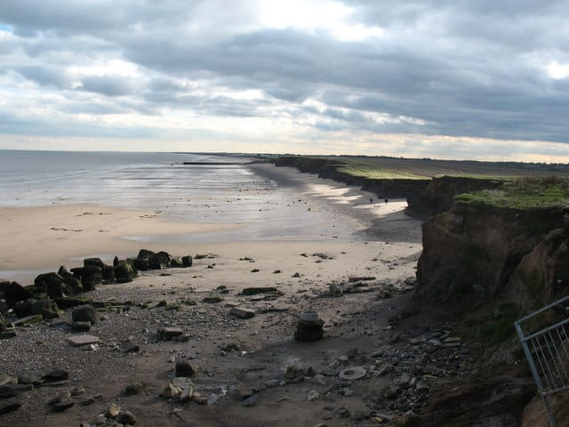 Barmston beach, Bridlington, East Riding of Yorkshire