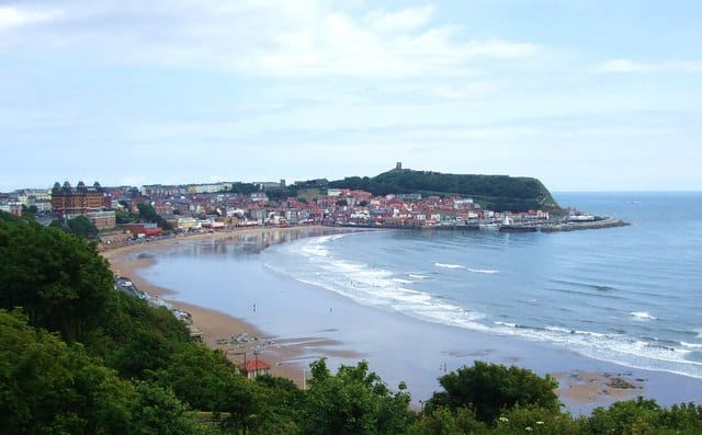 Scarborough South Sands beach, Scarborough, North Yorkshire