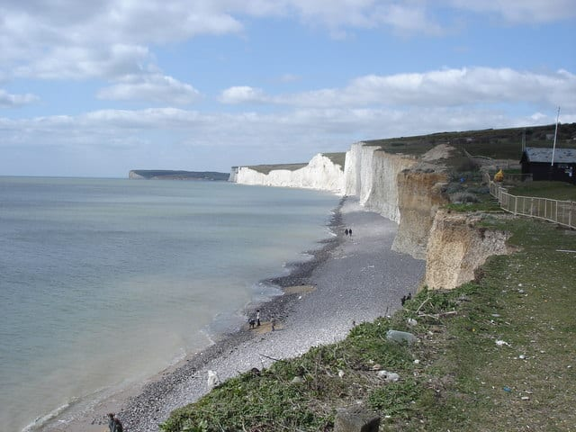 Birling Gap beach, Eastbourne, East Sussex