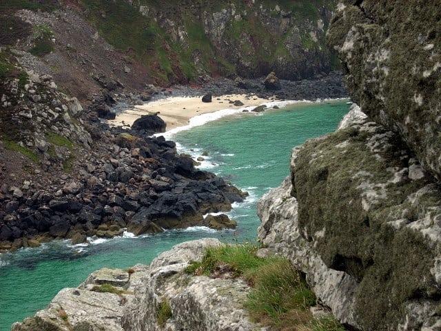 Veor Cove beach, St Ives, Cornwall